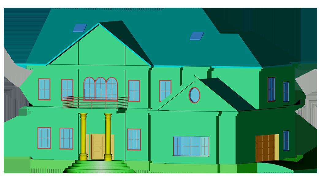 3D CAD Architechure model